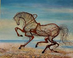 Magnificent and impetuous horses painted by Vasko Taškovski - ego-alterego.com
