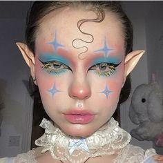 Edgy Makeup, Clown Makeup, Crazy Makeup, Cute Makeup, Pretty Makeup, Makeup Inspo, Makeup Art, Halloween Makeup, Makeup Inspiration