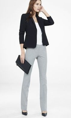 grid print barely boot columnist pant from EXPRESS