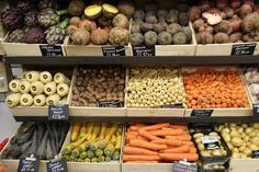 PG Parkway Greens, Camden. Delicious range of fruit and veg