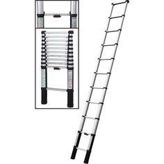 Werner Telescopic Extension Ladder
