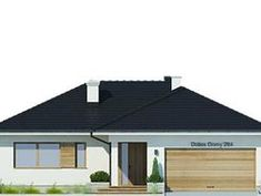 DOM.PL™ - Projekt domu FA Oceania II CE - DOM GC7-08 - gotowy koszt budowy Three Bedroom House Plan, Cool House Designs, Home Goods, Architecture, Outdoor Decor, Ideas, Home Decor, Arquitetura, Decoration Home