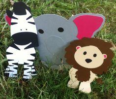 Jungle animal cut outs