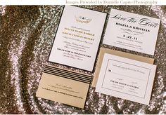via StyleUnveiled.com / Danielle Capito Photography / Davia Lee Events / Lake Tahoe Wedding - copper willow paper studio