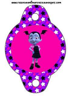 enfeite canudinho Vampirina do Disney Junior Disney Junior, 3rd Birthday Parties, 4th Birthday, Vampire Party, Party Themes, Party Ideas, Nightmare Before Christmas, Halloween, Birthdays