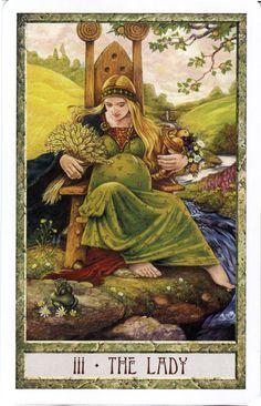 The Lady (The Empress) - Druid Craft Tarot