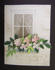 *SC370 Flowering Window Box by hobbydujour - Cards and Paper Crafts at Splitcoaststampers