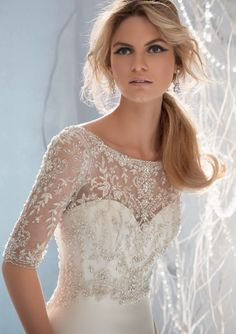 Wedding Bridal Gowns - Designer Morilee – Wedding Dress Style 1962 #wedding