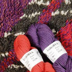 Weaving wool from Vavstuga