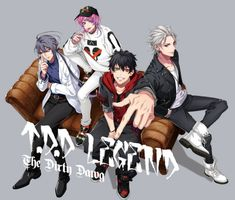 The Dirty Dawg - Hypnosis Mic -Division Rap Battle- - Image - Zerochan Anime Image Board