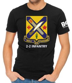 Our newest shirt design, The 2nd Infantry Regiment, is an infantry regiment in the United States Army that has served for more than two hundred years.NOLI ME TANGERE!