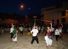El ball de cintes vestits de camp. La recuperació del Sant Quirze rural. Festa Major 2012 #SQV