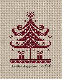 Free cross stitch chart from Russia.