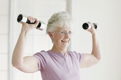 Research has shown that exercise can slow down the physiological aging clock. Check out these 10 strength training moves for women over 50.