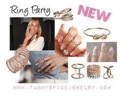Ring Party with Tammy Spice Jewelry