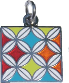 Cathedral Window Charm, Available SOON!