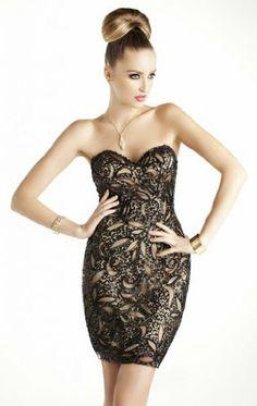 Passat Women's Long Chiffon Sweetheart Neck Evening Dress