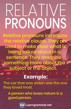 A pronoun is used in place of a specific noun mentioned earlier in a sentence so that you don't have to keep saying/writing that particular noun. English Grammar Rules, English Speaking Skills, Grammar Tips, English Writing Skills, English Vocabulary Words, Learn English Words, English Language Learning, Language Arts, Grammar Reference