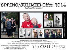 Family portraits, individual portraits, siblings... This offer covers a varity of shoots fun natural studio & environmental shoots.