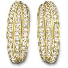 SWAROVSKI VOLATILE PIERCED EARRINGS 5007754   Duty Free Crystal