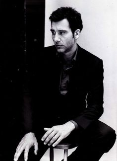 Clive Owen B & W #handsome #men