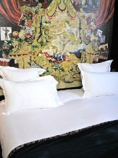 Hotel Petit Moulin in Paris designed by Christian Lacroix http://www.paris-hotel-petitmoulin.com/