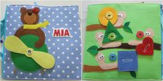 Personalized quiet book 5 by Lujdelson on Etsy