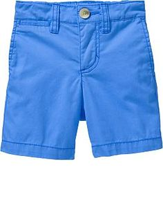 Pop-Color Twill Shorts for Baby   Old Navy