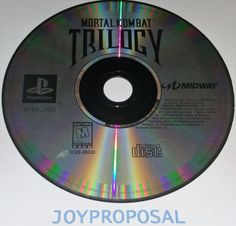 Mortal Kombat Trilogy Sony PlayStation 1 1996 PS1 PS2 Disc Only Fighting Mature!