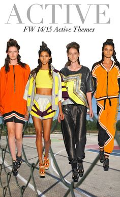 Trend Council:  FW 14/15 - Active Themes