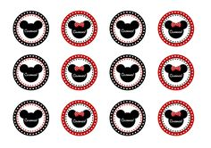 FREE Mickey & Minnie Mouse Birthday Party Printables from Printabelle | Catch My Party