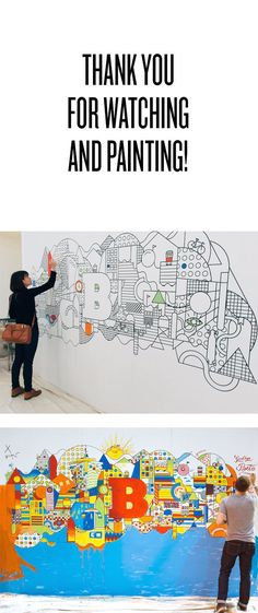 Brooklyn Beta on Behance / mural / event / wall