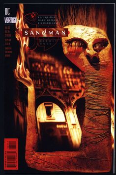 DC Comics Vertigo Press SANDMAN #65 with Card sealed & attached Neil GAIMAN Hellblazer Supernatural Magic Gothic Horror Anti-Super Hero Goth