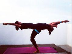 Partner Yoga | Partner/Acro Yoga taken in male', Maldives by Shifana AyogaFitness
