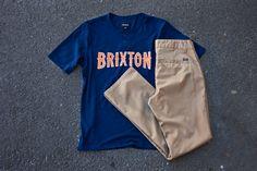 #brixton Benson henley & Toil Chino pant