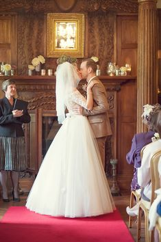 A Tara Keeley Gown For A Wedding Full Of Eclectic, Elegant and Vintage Inspired Touches