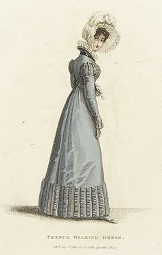26-10-11  French walking dress, June 1821