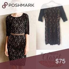 Anthropologie COLETTE DINNIGAN Lace Dress New, never worn. *Inner tag cut to prevent store returns Anthropologie Dresses