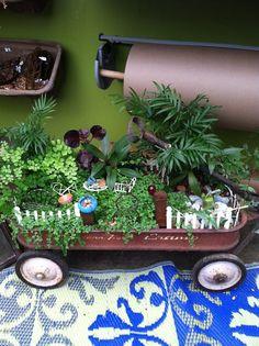 garden fairy crafts   Cute fairy garden!   Crafts...Mini
