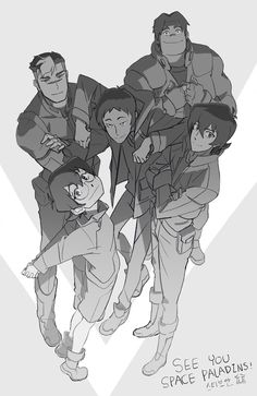 See You Space Paladins! by SteveAhn on DeviantArt