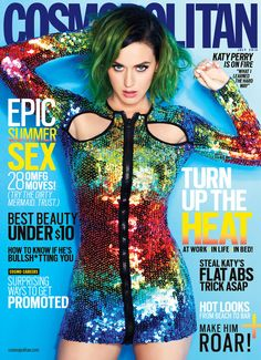 12 Katy Perry Cosmo Covers You've Never Seen Before