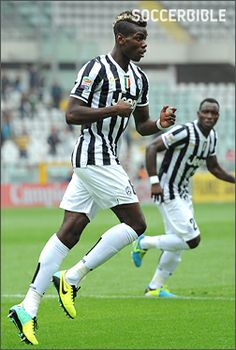 Paul Pogba, looks like an interesting prospect for the future of football...