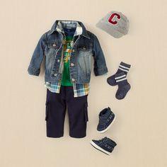 newborn - outfits - preppy boy - lil' jean-ius | Children's Clothing | Kids Clothes | The Children's Place