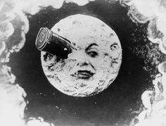 A Trip To The Moon (French: Le Voyage dans la lune) is a 1902 black-and-white French science fiction film about (surprise!) six Frenchmen going to the moon … Science Fiction, Fiction Film, Science Books, Hugo Cabret, Photos Rares, Renoir, Fritz Lang, Poster S, Silent Film
