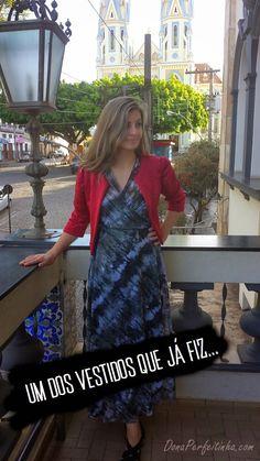 Como fazer um vestido sem costuras! Usando apenas uma tesoura! | Blog de casa - DONA PERFEITINHA