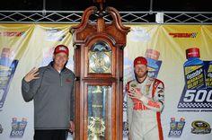 Dale Earnhardt Jr. wins at Martinsville!