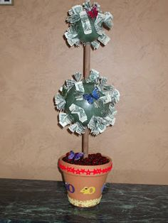 Just a Craftin: Money Tree