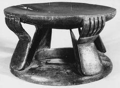 Luba stool @africamuseumbe