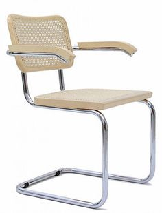 KNOLL sedia con braccioli CESCA by Marcel Breuer