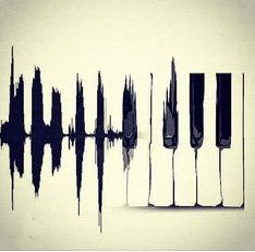 Not sure id go for, not playing the piano and all but cool looking. Heart beat monitor to piano is a great tattoo idea. Plakat Design, Piano Keys, Music Quotes, Piano Quotes, Guitar Quotes, Film Quotes, Art Quotes, Music Is Life, Music Music